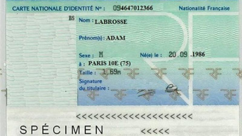 Carte Nationale D Identite Ramasse
